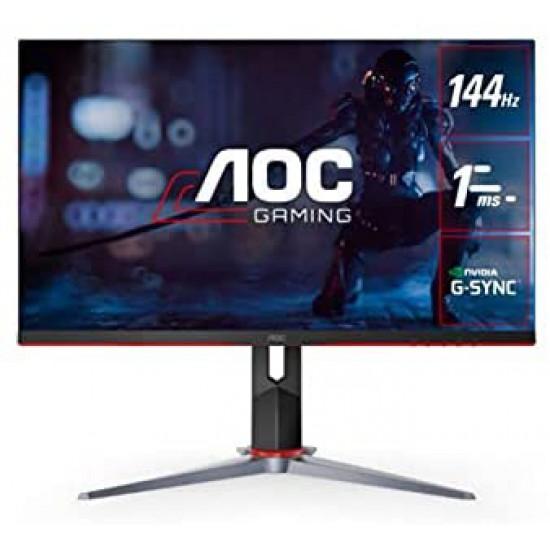 "AOC CU34G2X 34"" Curved Frameless Immersive Gaming Monitor, UltraWide QHD 3440x1440, VA Panel, 1ms 144Hz Adaptive-Sync, Height Adjustable, 3-Yr Zero Dead Pixels"