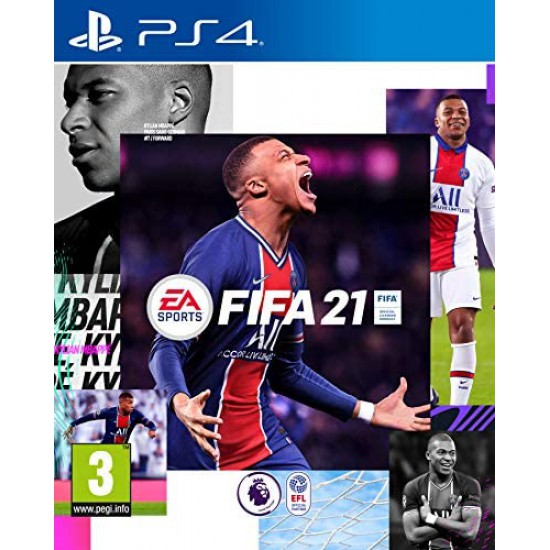 (USED) FIFA 21 (PS4)  (USED)