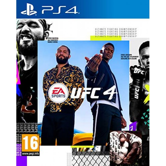 (USED) UFC 4 - PS4 (USED)