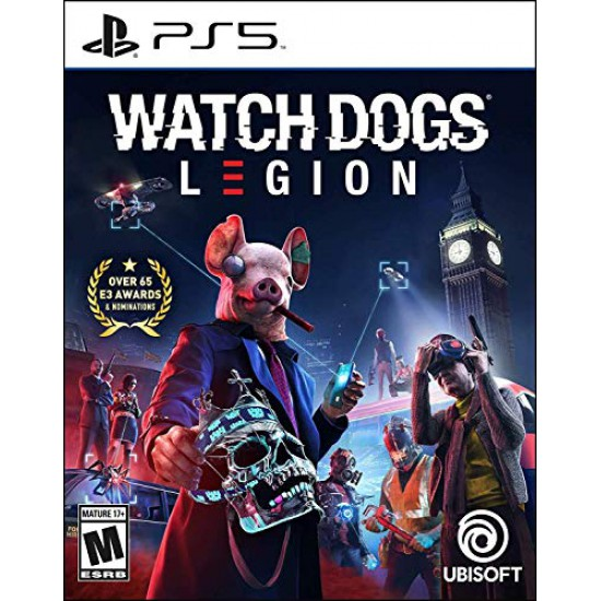 (USED) Watch Dogs: Legion PlayStation 5 Standard Edition (USED)