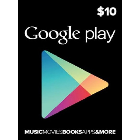 10$ Google Play - USA