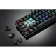 Motospeed CK62 Wired/Bluetooth Mechanical RGB Gaming Keyboard [Black] - Blue Switches