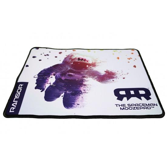 RANSOR Gaming MoozePad - Spaceman White Edition