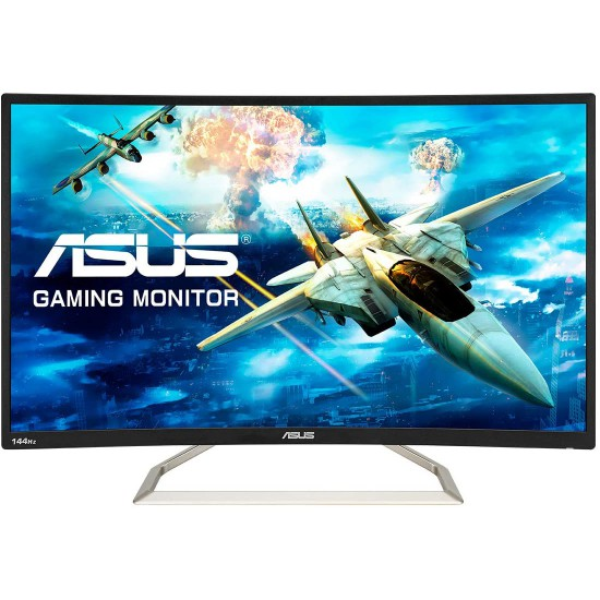ASUS Curved VA326H 31.5? Full HD 1080p 144Hz HDMI VGA DVI Eye Care Monitor