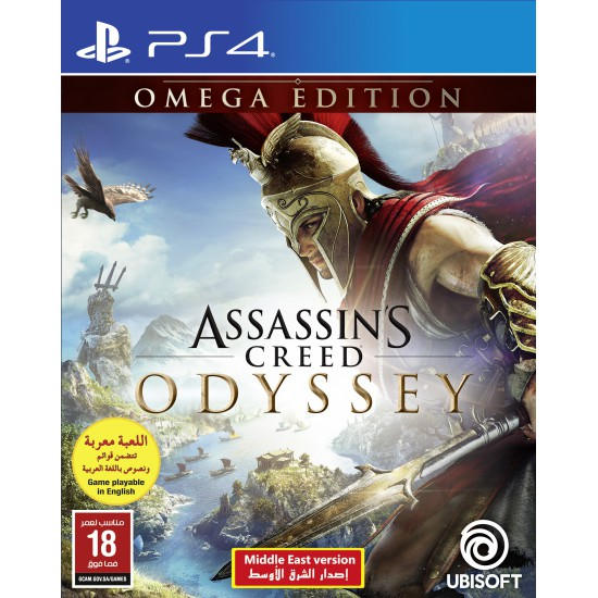 ASSASSIN'S CREED ODYSSEY OMEGA EDITION (ARABIC & ENGLISH) -PS4