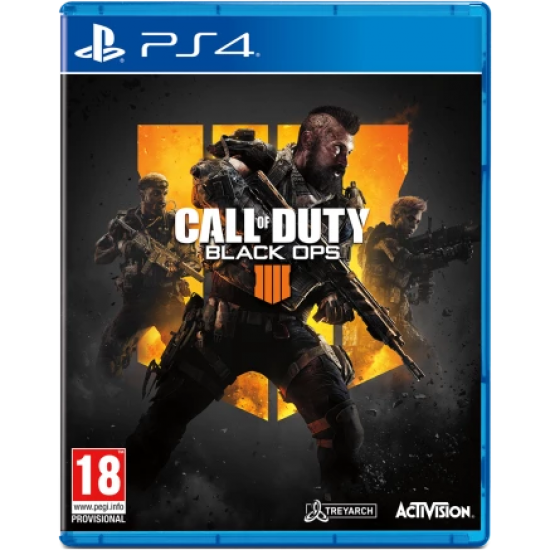 (USED) Call of Duty: Black Ops 4 - PlayStation 4(Arabic&English) (Region 2) (USED)