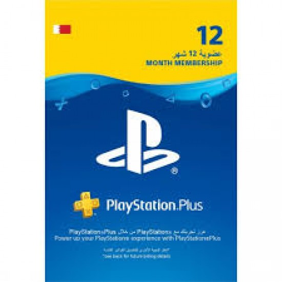 12Months PlayStation Store Gift Card BH - PS3/ PS4/ PS Vita