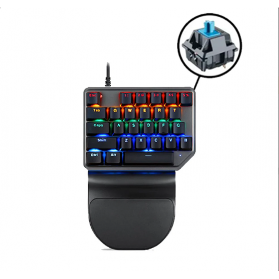 MotoSpeed K27 Wired Mechanical RGB Keypad - Red Switches