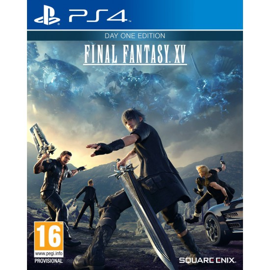 (USED) Final Fantasy XV Day One Edition (Region2) - Ps4 (USED)
