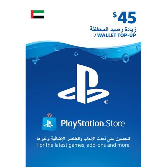 UAE PSN Wallet top up - 45 USD