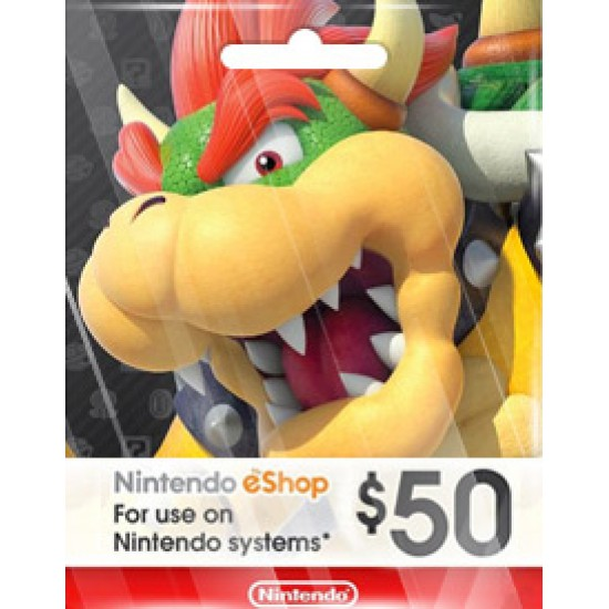NINTENDO USD50 ESHOP CARD (US)