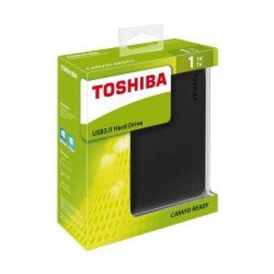 Toshiba Canvio Basics 1tb Portable External Hard Drive - Black